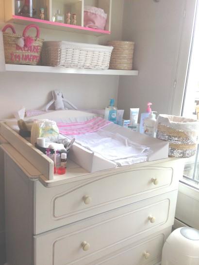 Table à langer, commode à langer, espace à langer bébé